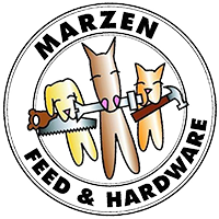 Marzen's Feed and Hardware Logo